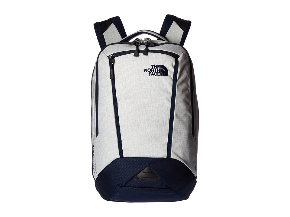 The North Face Microbyte Backpack Highrise Grey Heather/Cosmic Blue Backpack Bags