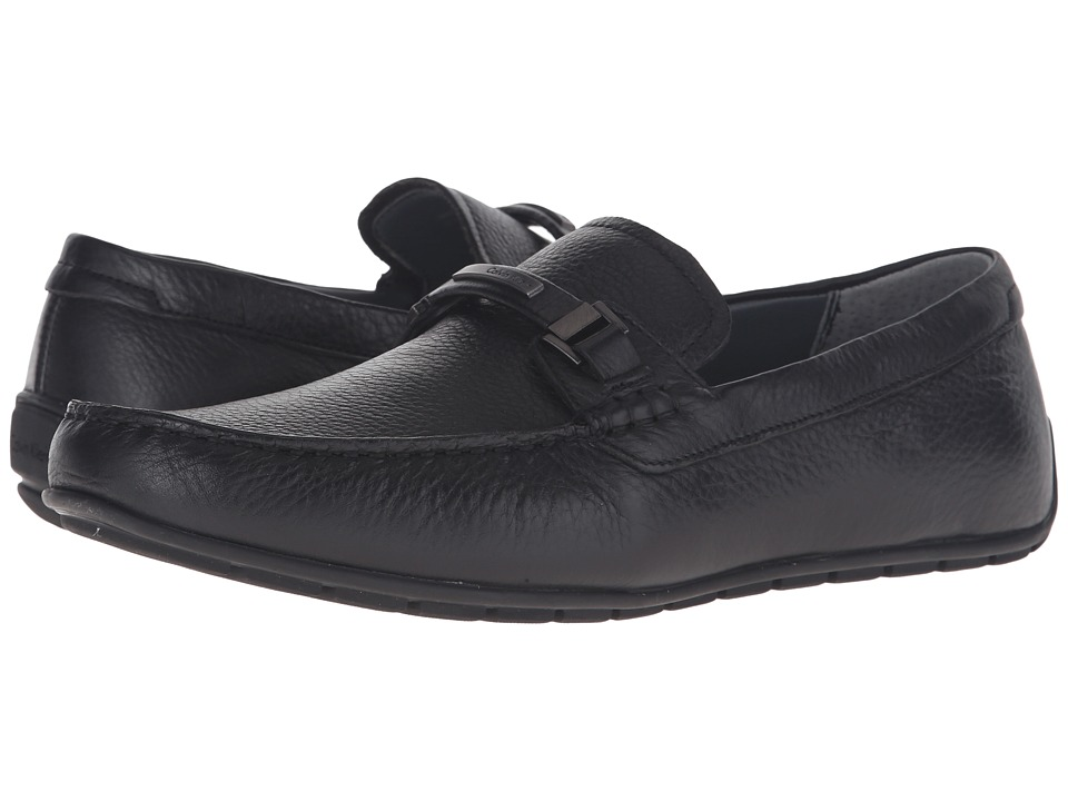 Calvin Klein - Ignacio (Black Tumbled Cow Leather) Men