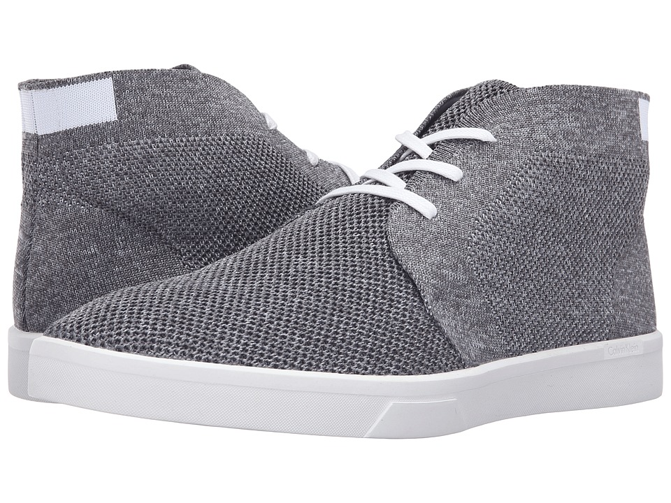 Calvin Klein - Indio (Grey/White Heather/Solid Knit) Men