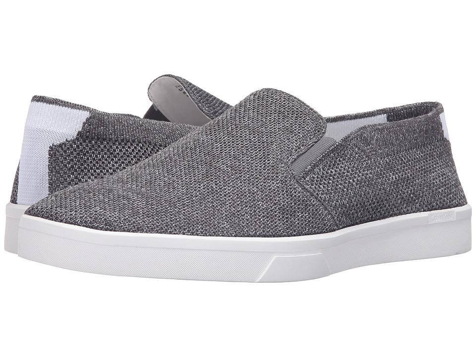 Calvin Klein - Ives (Grey Heathered Knit) Men