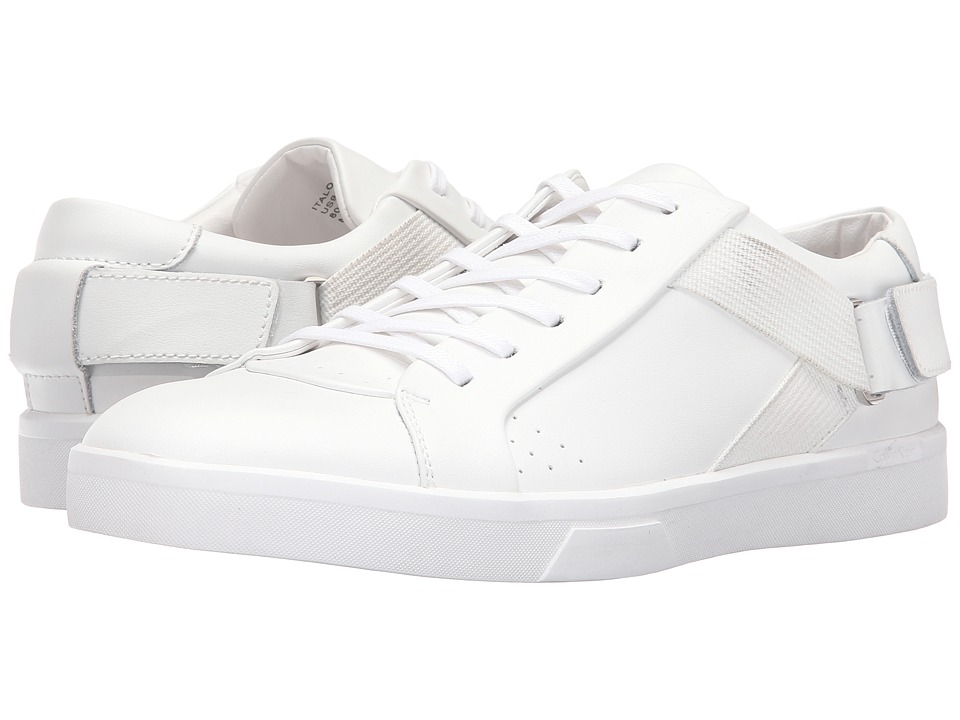 Calvin Klein - Italo (White Leather) Men