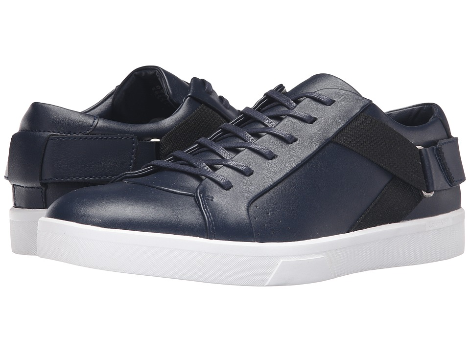 Calvin Klein - Italo (Dark Navy Leather) Men
