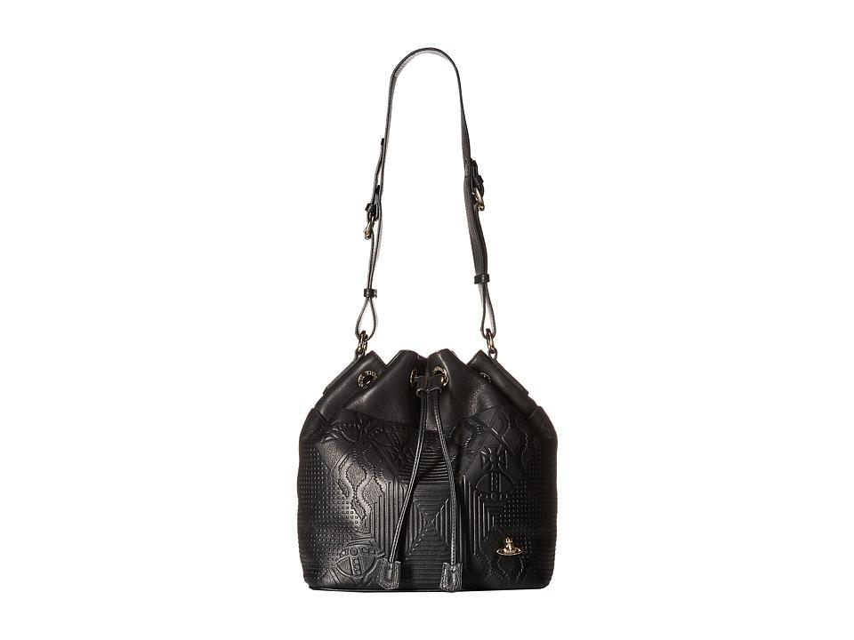 Vivienne Westwood - Hogarth Bag (Black) Handbags