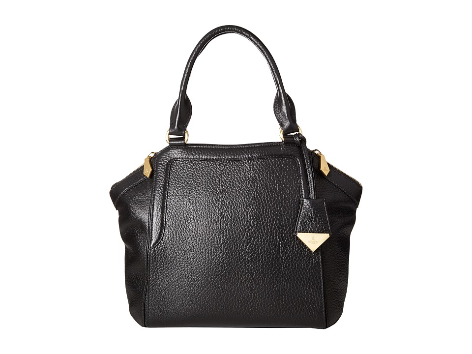 Vivienne Westwood - Kensington Bag (Black) Handbags