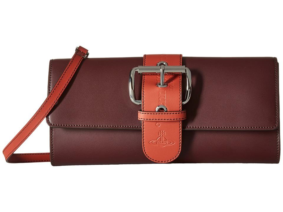 Vivienne Westwood - Alex Bag (Bordeaux) Handbags