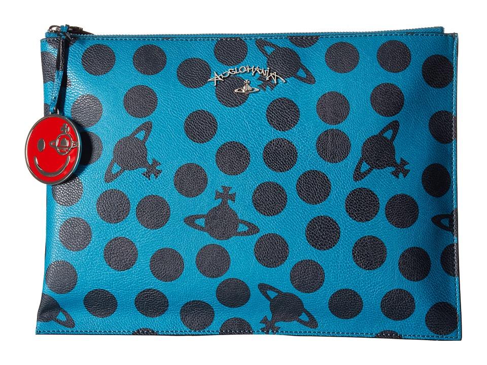 Vivienne Westwood - Dotmania Bag (Green) Handbags