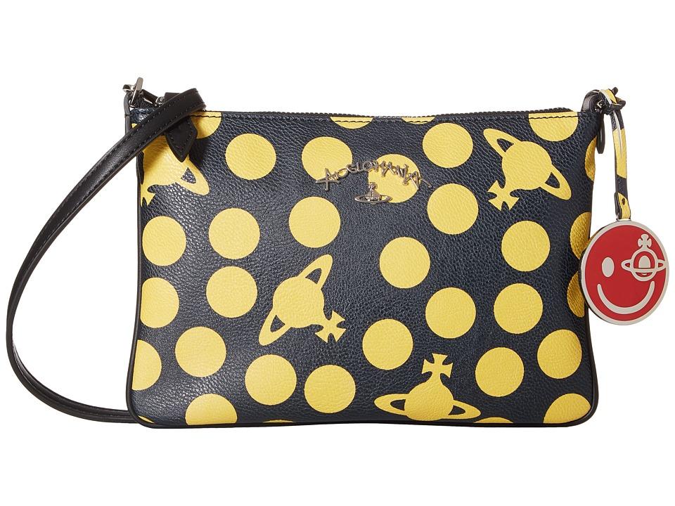 Vivienne Westwood - Dotmania Bag (Black) Handbags