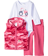 Carhartt Kids - Flower Power Three-Piece Pants Set (Infant)