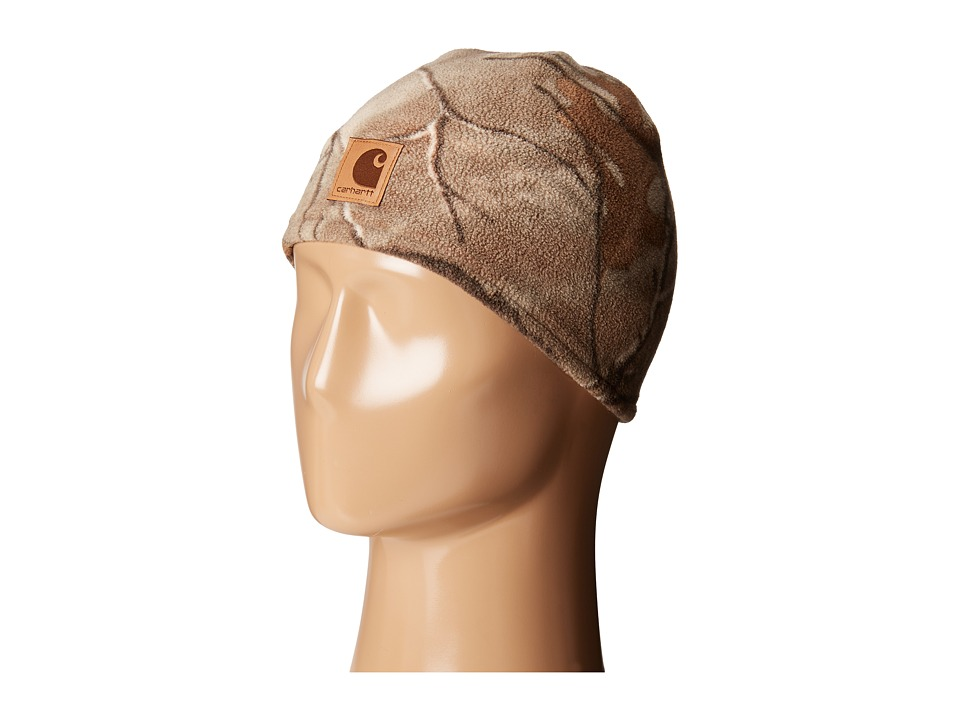 Carhartt Kids - Force Swifton Camo Hat (Youth) (Camo/Orange) Caps