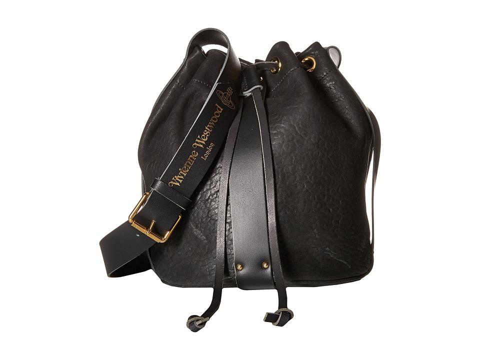 Vivienne Westwood - Bondage Bag (Black) Shoulder Handbags