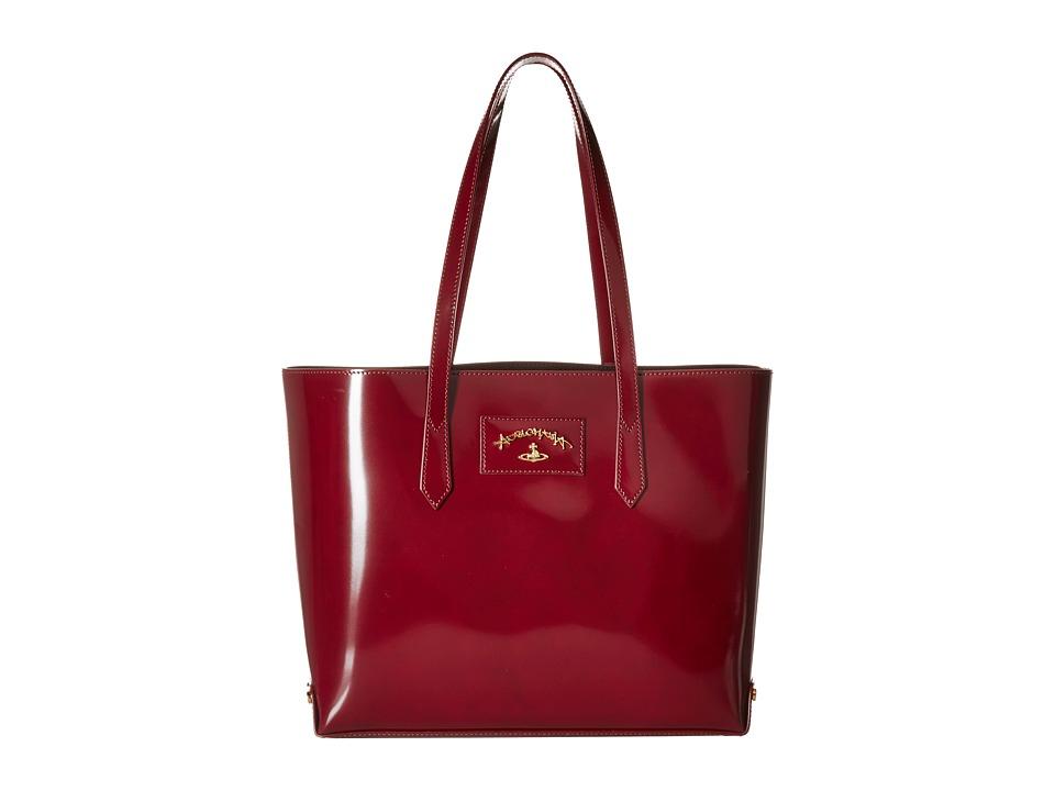 Vivienne Westwood - New Castle Bag (Bordeaux) Tote Handbags