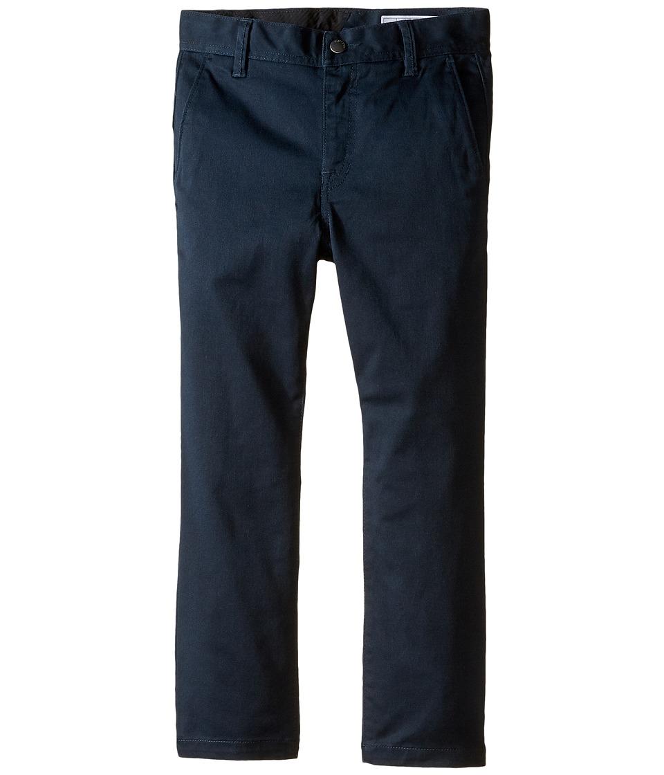 Volcom Kids - Frickin Modern Stretch Pants (Toddler/Little Kids) (Dark Navy) Boys Casual Pants