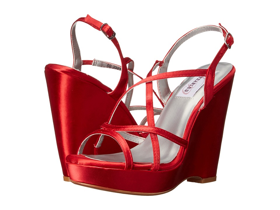 Touch Ups Dee Valentine Red Womens Shoes