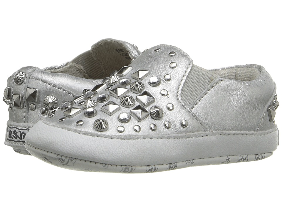 Image of ASH Kids - Baby Jay Roxy (Infant) (Silver) Girl's Shoes