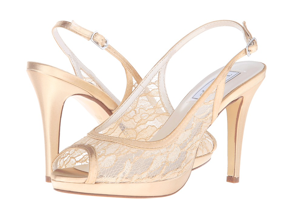 Touch Ups Lydia Victorian Gold Womens Shoes