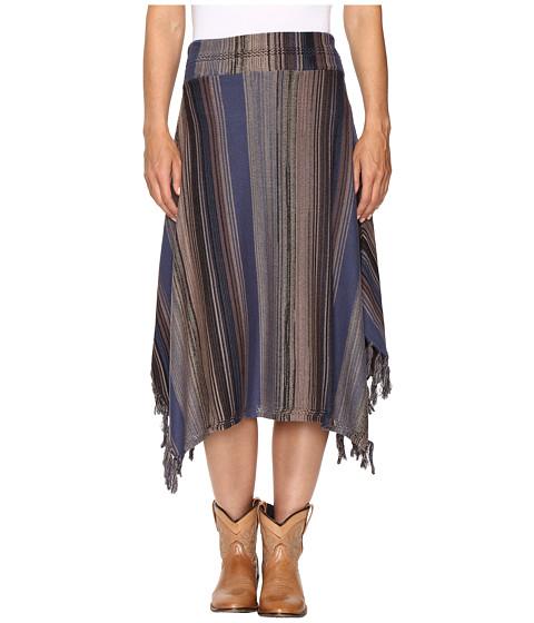 Stetson Stripe Long Sweater Skirt