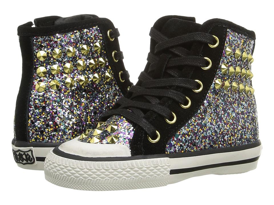 Image of ASH Kids - Lita Monroe (Toddler/Little Kid) (Multi Glitter) Girl's Shoes