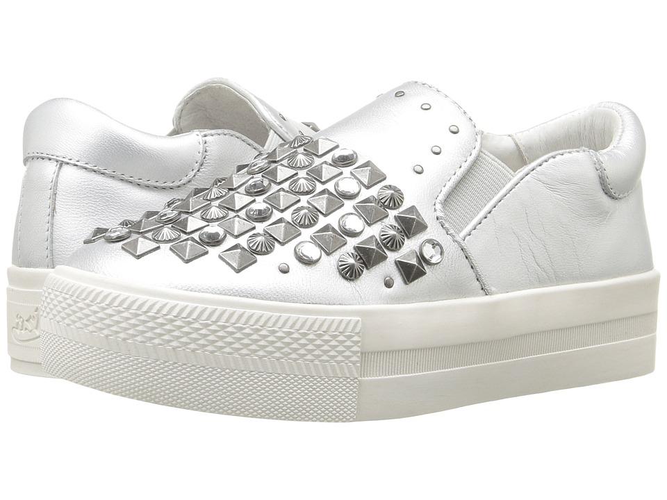 Image of ASH Kids - Lynn Clodi (Little Kid/Big Kid) (Silver) Girl's Shoes