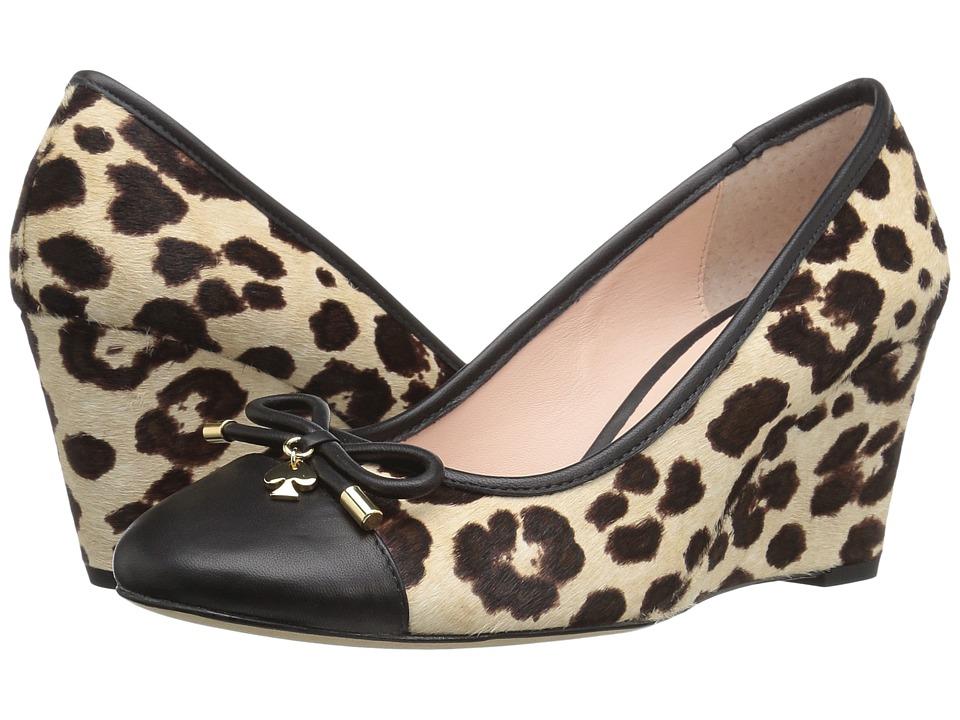 Kate Spade New York - Kacey (Blush/Brown Leopard Haircalf Print) Women
