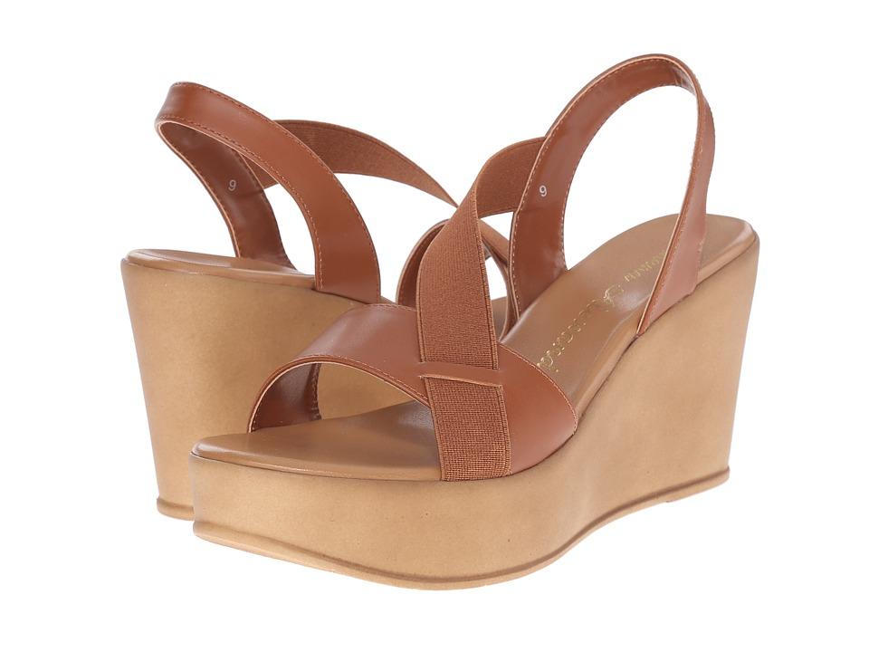 Athena Alexander Koko Cognac Womens Shoes