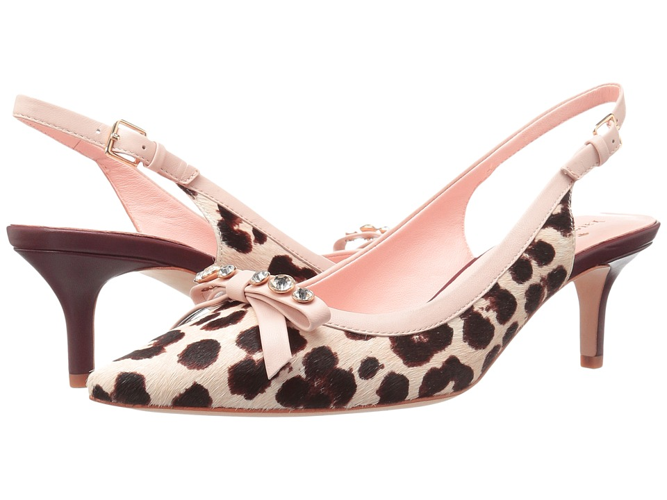 Kate Spade New York - Palina (Blush/Brown Leopard Haircalf Print) Women