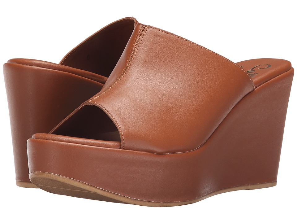 Callisto of California Marlaa Cognac Womens Shoes