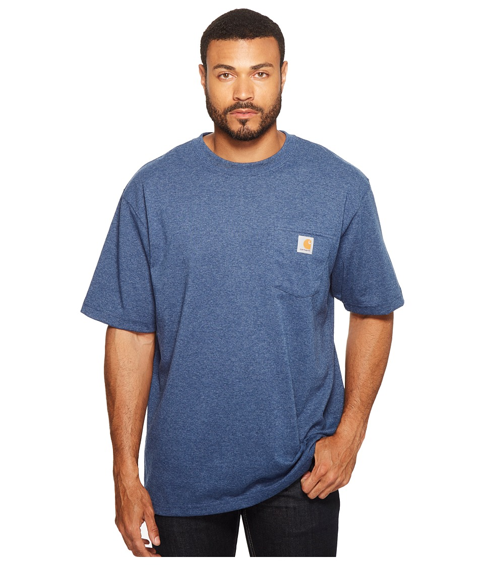 Carhartt Workwear Pocket S/S Tee K87 (Dark Cobalt/Blue He...