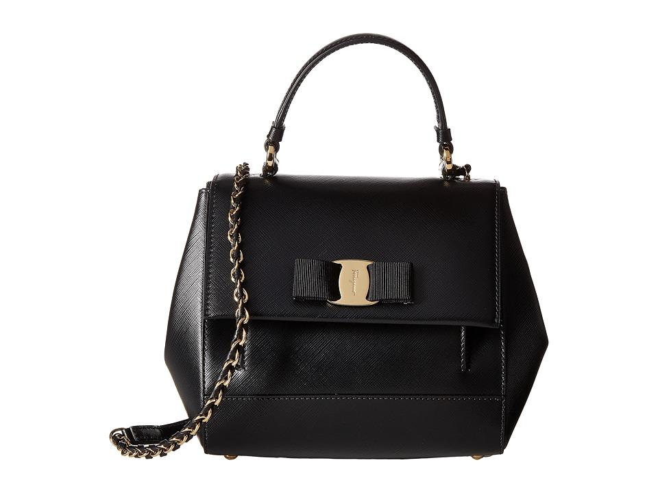 Salvatore Ferragamo - 21F570 Carrie (Nero) Handbags