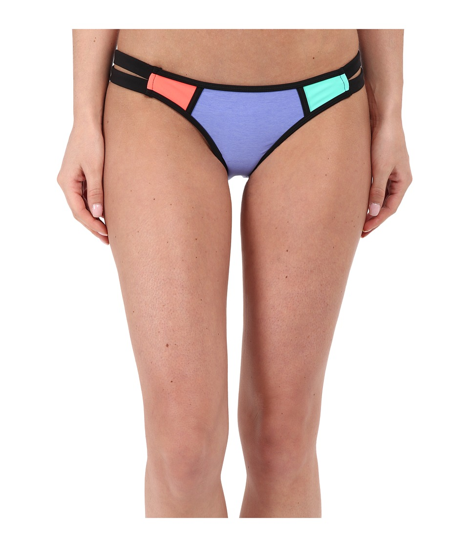 Body Glove Borderline Bali Bottoms Iris Blue Womens Swimwear