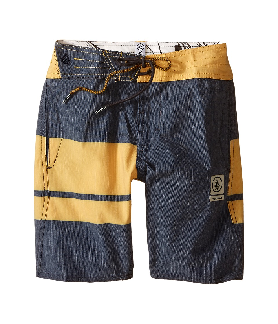 Volcom Kids 3 Quarta Slinger Boardshorts Big Kids Navy Boys Swimwear