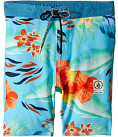 Volcom Kids - Party Pack Safari Elastic Waist Boardshorts (Big Kids)