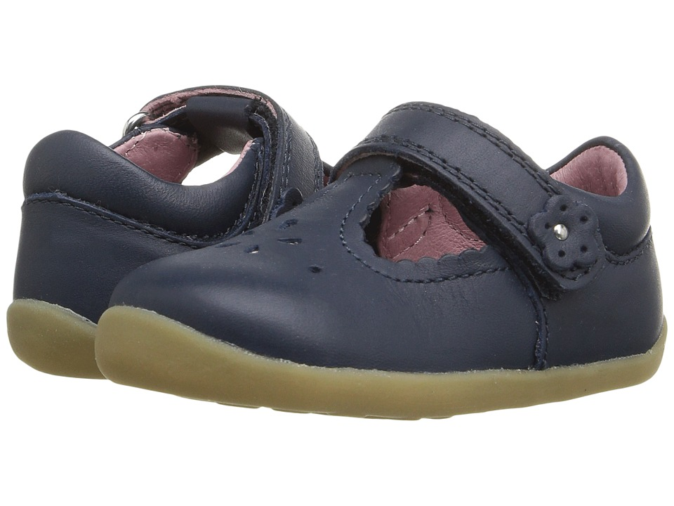 Bobux Kids - Step Up Reign (Infant/Toddler) (Navy) Girls Shoes
