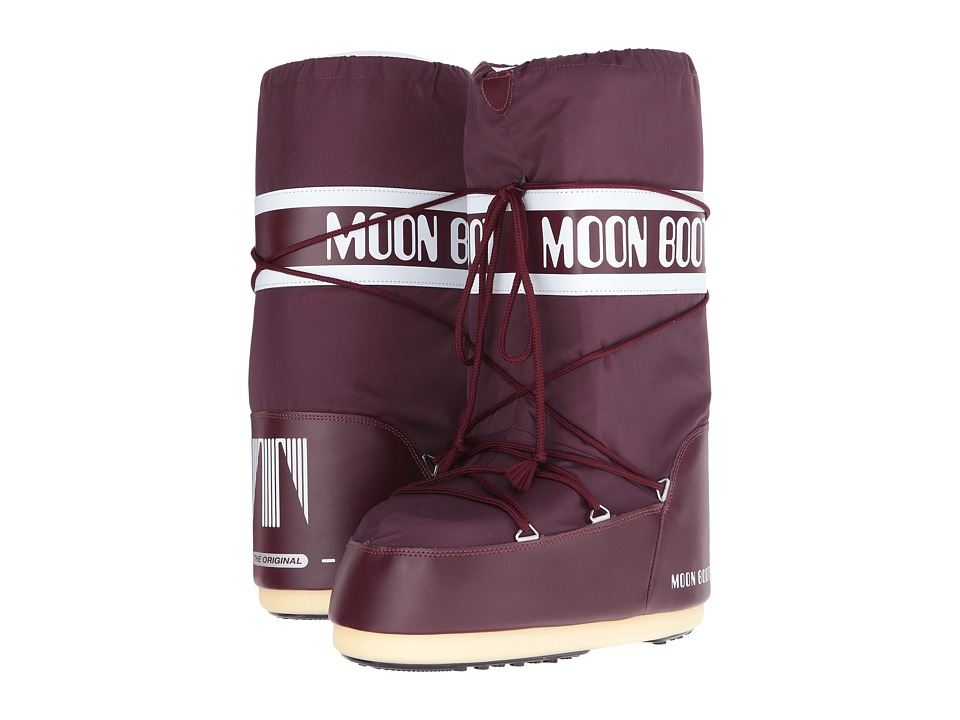 Tecnica Moon Boot(r) Nylon (Burgundy) Boots