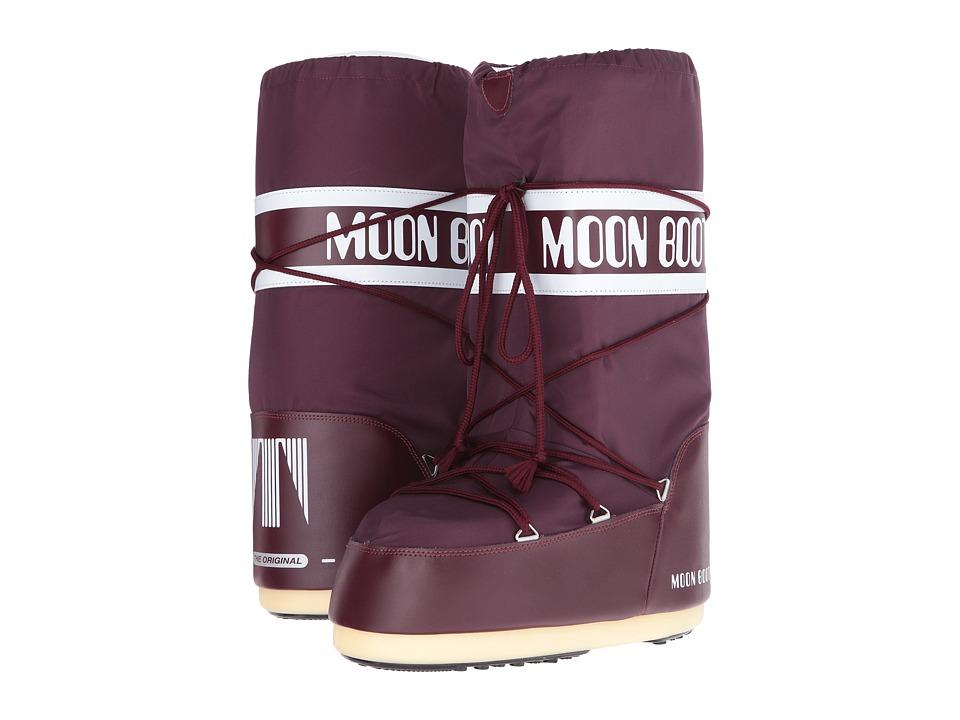 Tecnica Moon Boot Nylon (Burgundy) Boots