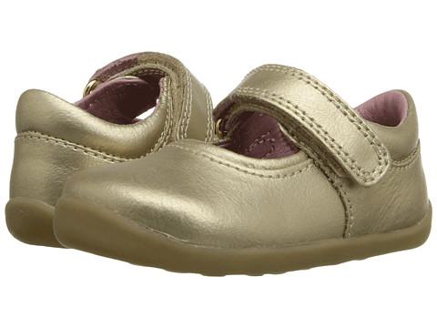 Bobux Kids Step Up Shiny Dancer Mary Jane (Infant/Toddler) - Gold