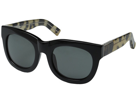 3.1 Phillip Lim PL159C2SUN - Black/Cheetah/Fog Green