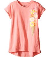 Tommy Hilfiger Kids - Floral Cone Tee (Big Kids)