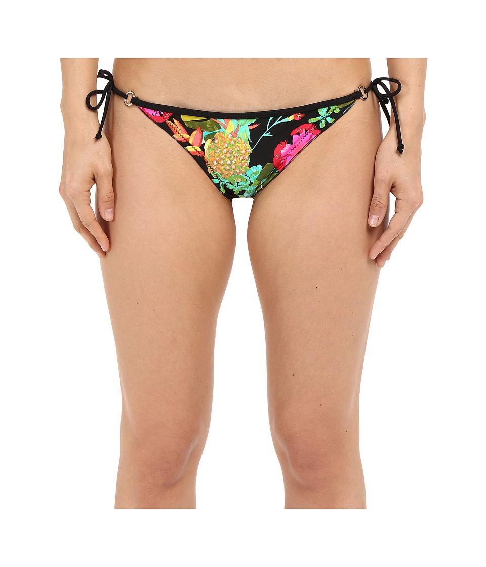 Body Glove Akela Brasilia Tie Side Bottom Black Womens Swimwear