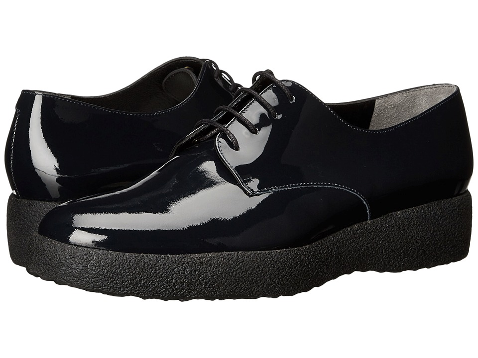Robert Clergerie Feydol Navy Patent Womens Lace up casual Shoes