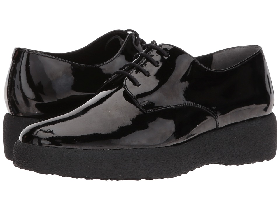 Clergerie - Feydol (Black Patent) Womens Lace up casual Shoes