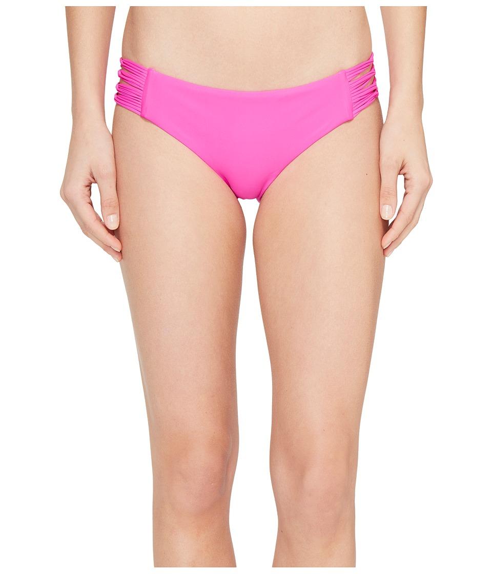 Body Glove Smoothies Ruby Low Rise Bottom (Flamingo Pink) Women