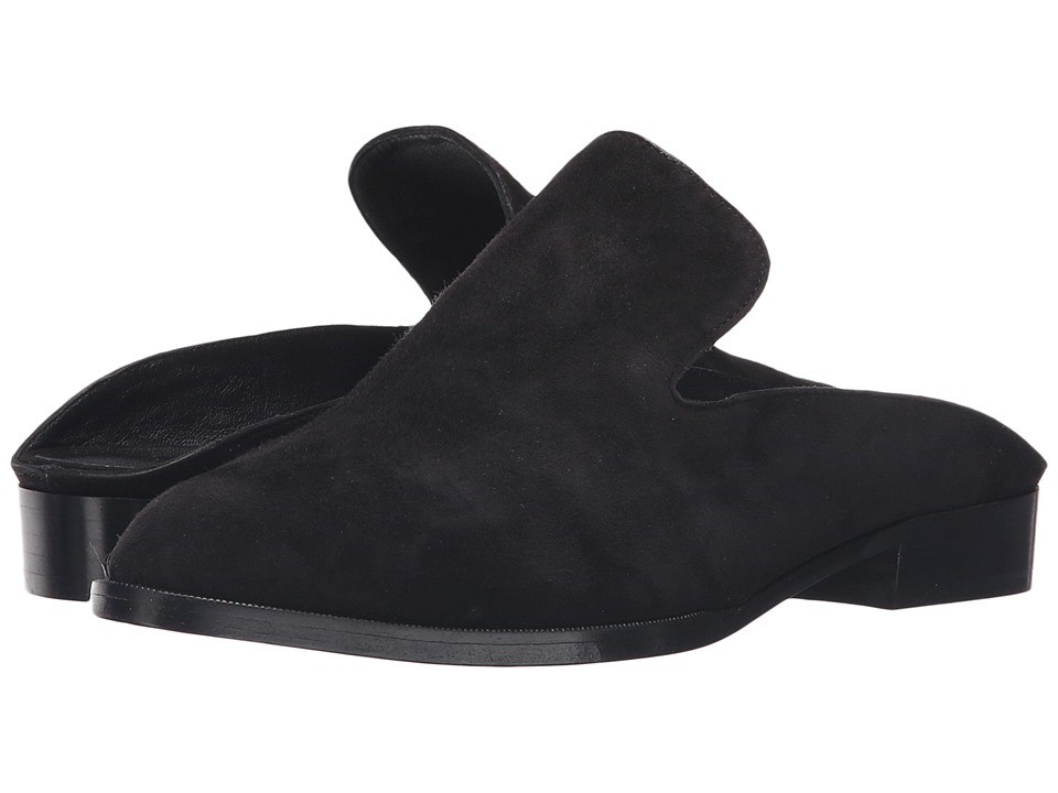Robert Clergerie Alicel Black Suede Womens Shoes