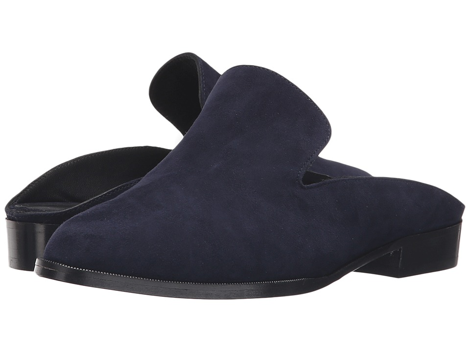 Robert Clergerie Alicel Navy Suede Womens Shoes