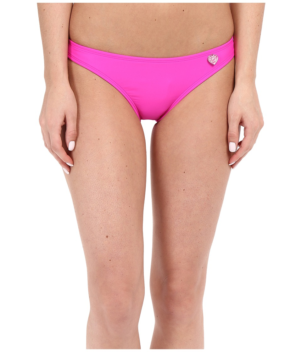Body Glove Smoothies Basic Bikini Bottom (Flamingo Pink) Women