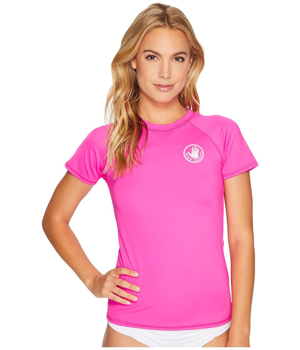 Body Glove - Smoothies In Motion Rashguard (Flamingo Pink) Womens Swimwear