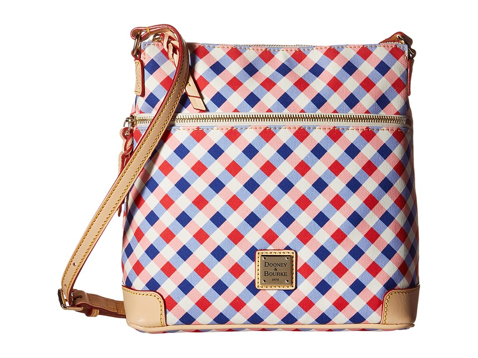 Dooney & Bourke - Elsie Crossbody (Cherry/Purple/Natural Trim) Cross Body Handbags