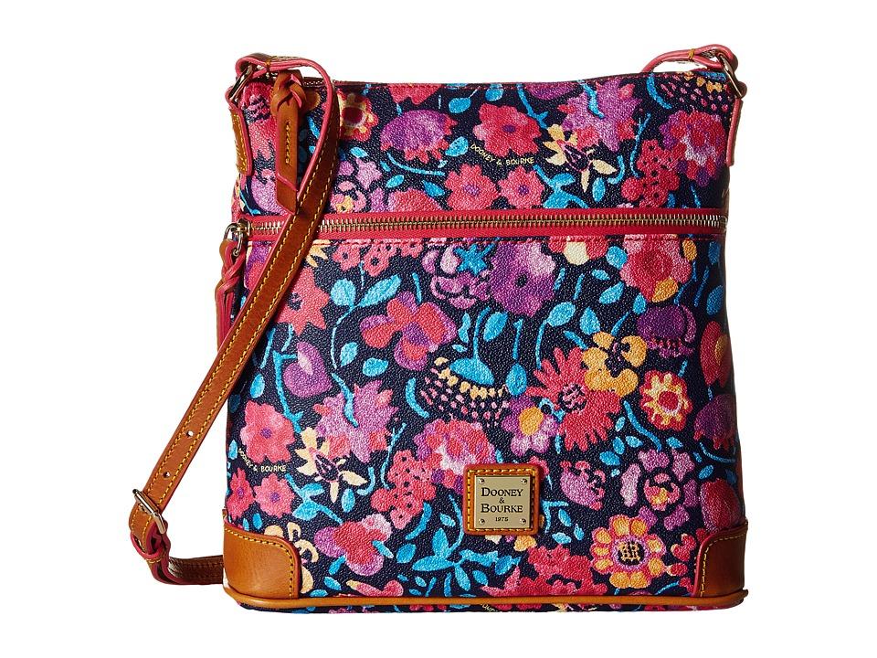 Dooney & Bourke - Marabelle Crossbody (Black/Natural Trim) Cross Body Handbags