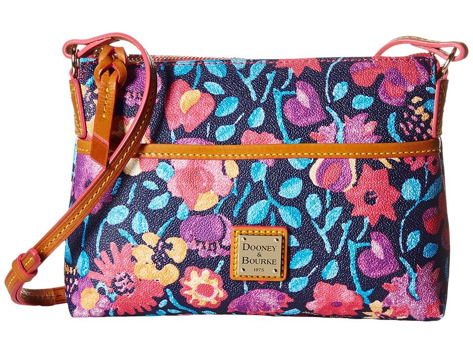 Dooney amp Bourke Marabelle Ginger Crossbody Black/Natural Trim Cross Body Handbags