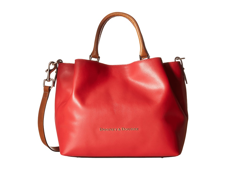 Dooney & Bourke - City Barlow (Geranium/Natural Trim) Handbags