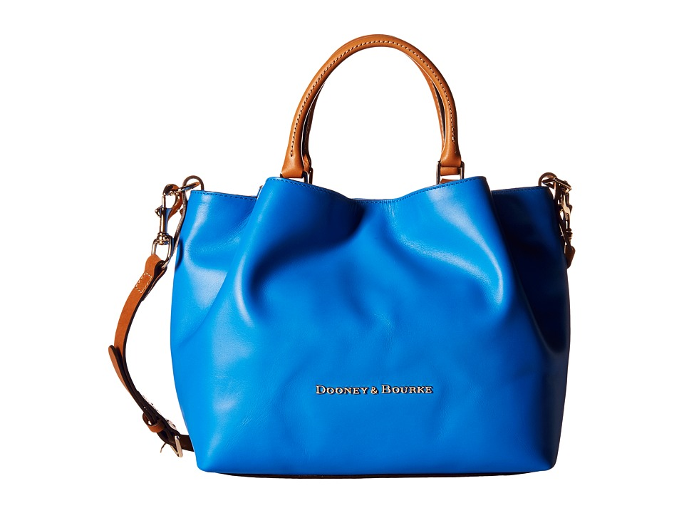 Dooney & Bourke - City Barlow (Ocean/Natural Trim) Handbags